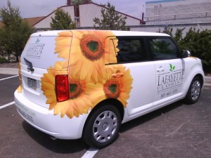 florist delivery vehicle